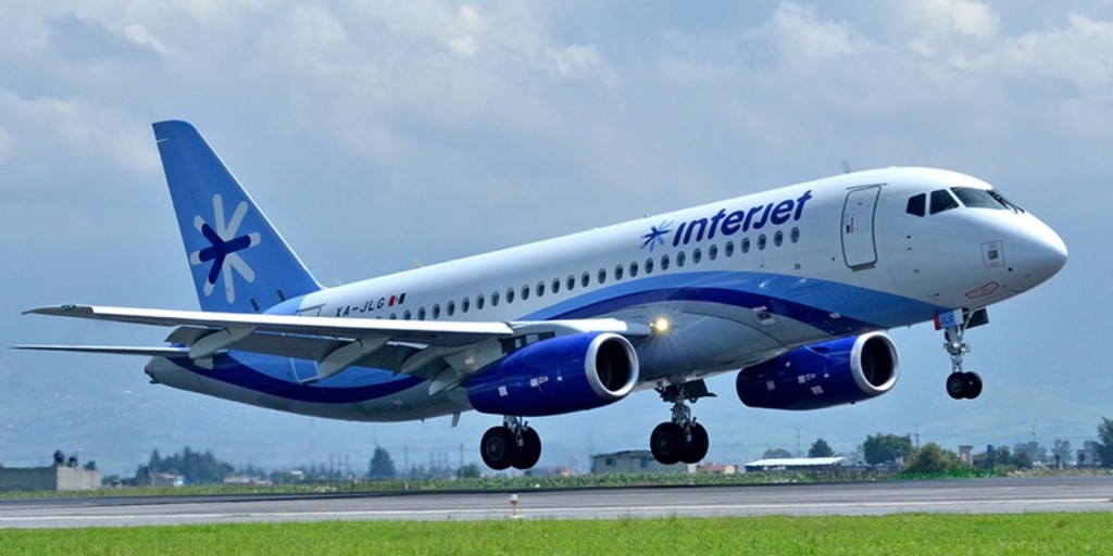 SSJ 100 Interjet Mexico
