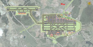 "From AutoCAD Drawing ""J:3051 - AirportsD115740 - Sheremetyevo"