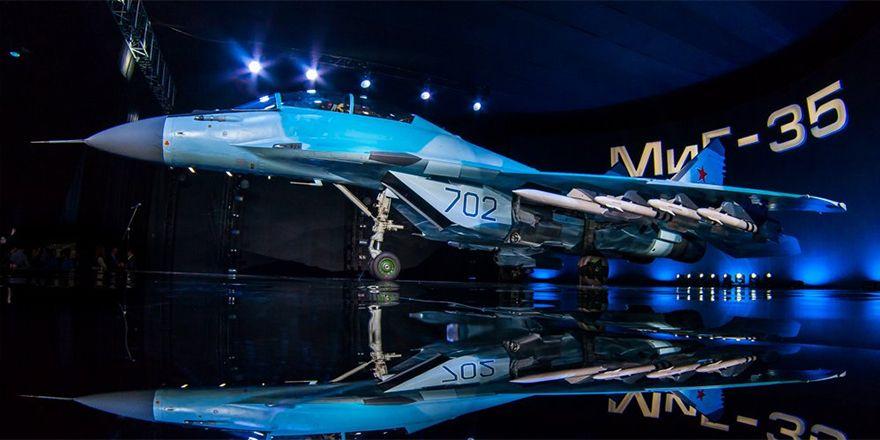 """МиГ-35 """"702 синий"""""""