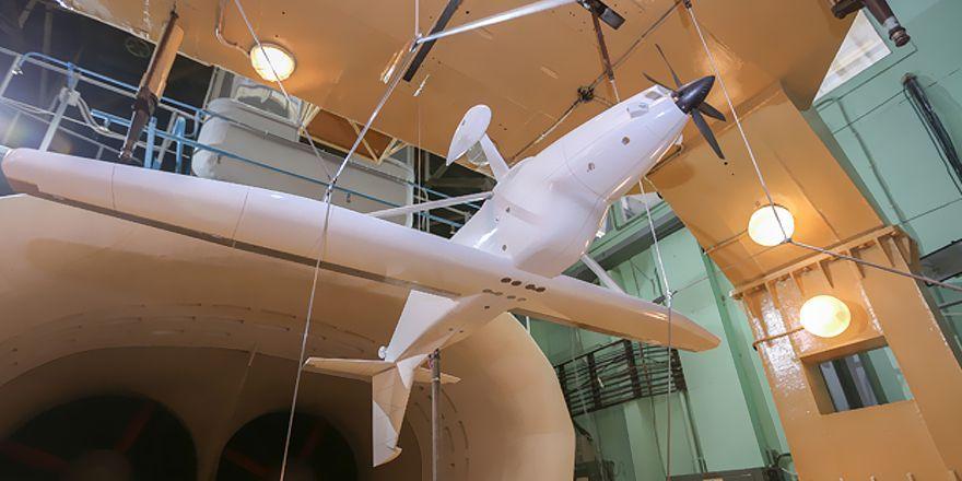 Продувка модели ЛМС-901 в ЦАГИ