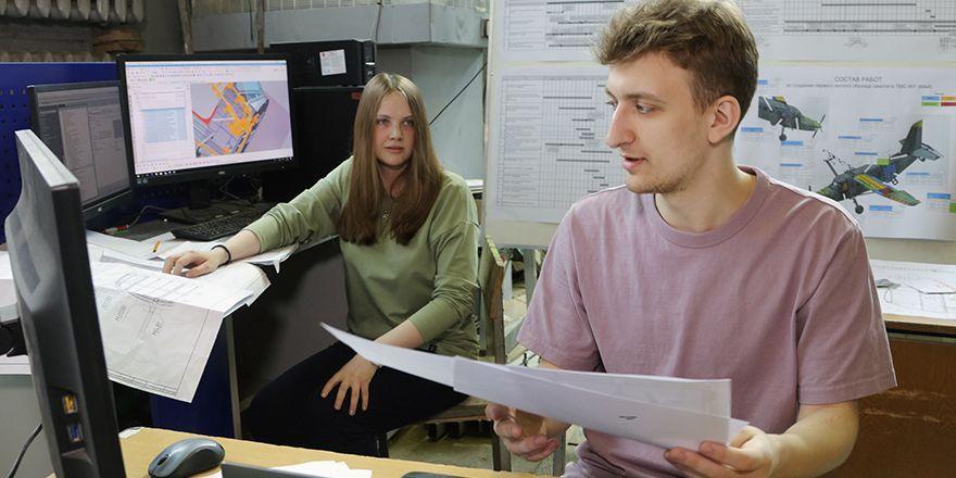 Студенты ВУЗа активно участвовали в разработке РКД