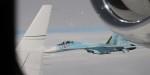 Над Чёрным морем Су-27 перехватил самолёт-разведчик ВВС США