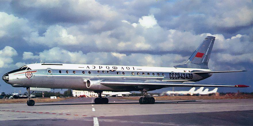 Ту-104: первый реактивный