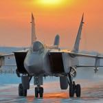МиГ-31БМ перехватили в стратосфере условного нарушителя границы