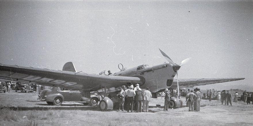 АНТ-25 в Калифорнии