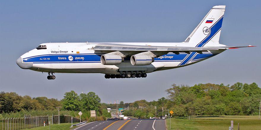 Самый крупный в мире серийный грузовой самолёт