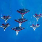 Более 100 самолётов и вертолётов задействовано в репетиции Парада Победы