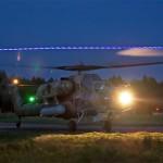 Вертолётчики ЗВО отработают пилотирование в очках ночного видения