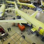 ОАК планирует в 2017 году выпустить 34 самолёта SSJ-100
