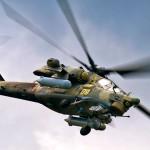 Вертолёты ВКС в Крыму летают с включёнными системами РЭБ