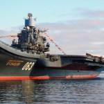 Российская авианосная группа готовится к походу в Средиземное море