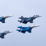 В Алабино состоялась первая репетиция воздушного парада в честь Дня Победы