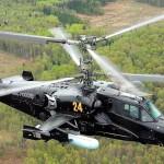 Сверхманёвренный вертолёт Ка-50 «Чёрная акула»