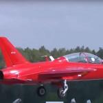 В Кубинке проходят лётные испытания учебного самолёта СР-10