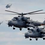 На Кавказе вертолёты Ми-35М выполнили полёты на высоте четыре тысячи метров