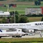 Все хотят припарковать свои самолёты рядом с «Iron Maiden»