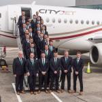 Суперджет 100 доставил сборную Ирландии на Евро-2016