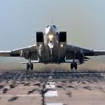 Ту-22М3 нанесли очередной удар по объектам террористов в Сирии (видео)