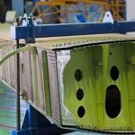 Композитный кессон крыла самолёта МС-21 доставлен в ЦАГИ для прочностных испытаний