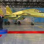 В Новосибирске выкатили сотый Су-34
