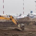 Реконструкция ВПП в аэропорту Храброво отстаёт от графика на девять месяцев