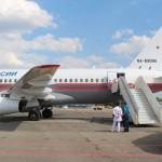 SuperJet 100 МЧС России эвакуировал тяжелобольных детей из Екатеринбурга и Челябинска