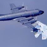 Как Су-27 отогнал норвежский самолёт-разведчик P-3 Orion