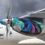 Натурный образец двигателя ТВ7-117СТ представлен на форуме двигателестроения