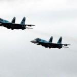 В Санкт-Петербурге прошла первая тренировка пролёта авиации над Дворцовой площадью