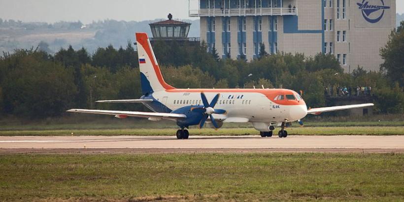 Ил-114-300 - турбовинтовой региональный самолёт