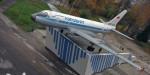 В Рыбинске открыли восстановленный самолёт-памятник Ту-104А