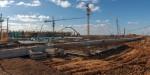 Строительство нового аэровокзального комплекса в Симферополе идёт круглосуточно