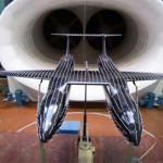 В ЦАГИ проведены исследования аэродинамических параметров двухфюзеляжного самолёта