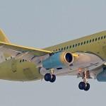 117-й серийный SSJ 100 выполнил первый полёт