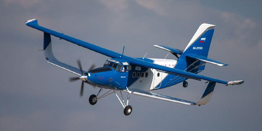ТВС-2ДТС — лёгкий цельнокомпозитный многоцелевой самолёт   Авиация России