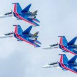 Военные лётчики завершили подготовку к военному параду 9 мая на Красной площади