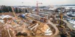 Продолжается строительство ВПП-3 в Шереметьево