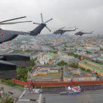 Воздушная часть парада Победы пройдёт в 37 городах