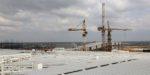 На строительстве нового терминала аэропорта «Симферополь» началась укладка кровли