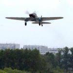 Тренировку воздушной части Главного военно-морского парада возглавил штурмовик Ил-2