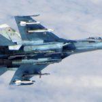 Увидев вооружение под крыльями Су-27, натовский F-16 ретировался