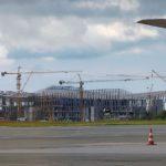 В аэропорту «Симферополь» полностью завершён монтаж металлоконструкций здания нового терминала
