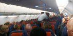 На рейсе в Симферополь пассажир ударил бортпроводницу