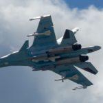 Два бомбардировщика Су-34 переданы в ВКС