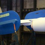 В ЦАГИ идут испытания по проекту AFLoNext — активное крыло 2-го поколения