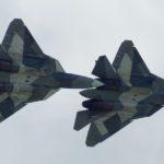 9 мая над Москвой впервые пролетят истребители Су-57