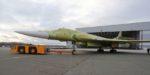 В Казани на лётно-испытательную станцию передали прототип ракетоносца Ту-160М2