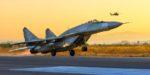 Истребители МиГ-29СМТ вернулись из Сирии на аэродром Приволжский в Астраханской области
