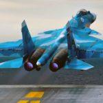Партия истребителей Су-33 оборудована специальной вычислительной подсистемой
