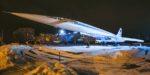 В Казани состоялась презентация подстветки мемориала самолёта Ту-144